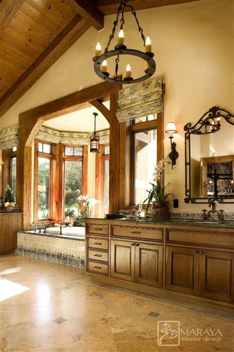 Vanity Ranch by Ranch Mountain Master Bath Farmhouse Bathroom Santa