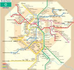 France Train Map by Metro Archives Paris By Train