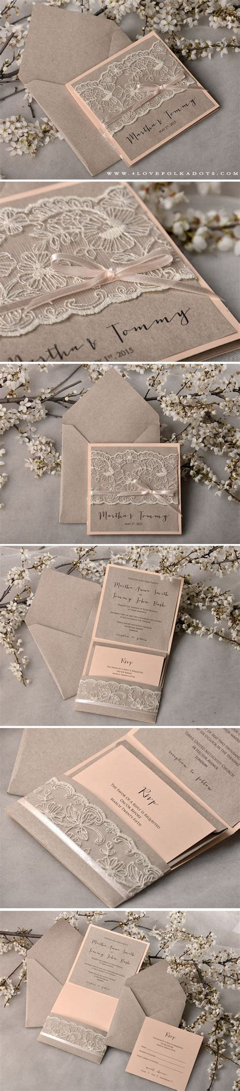 Wedding Invitations Handmade Ideas - 25 best ideas about handmade wedding invitations on