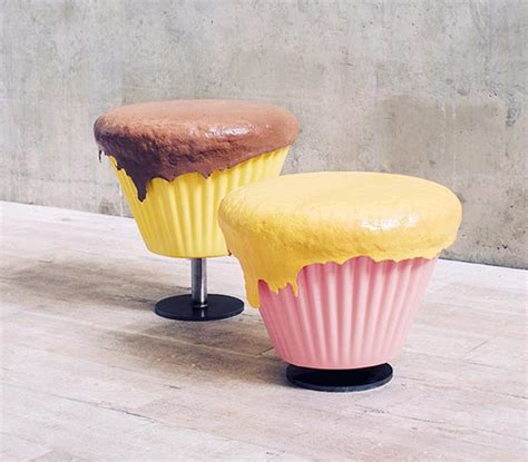 sweeties furniture cupcake stool  biscuit table