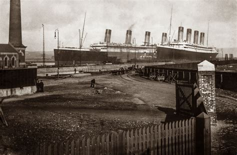 pictures of new newly released photos of titanic show ship before its