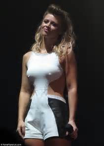 mesmerised by kimberley walsh s amazing prominent
