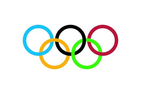 olympic rings colors the gallery for gt olympics rings logo vector