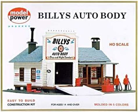 billy s auto kit ho scale model railroad building