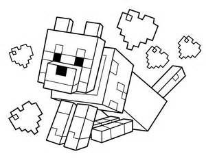 coloring pages minecraft printable minecraft coloring pages coloring home