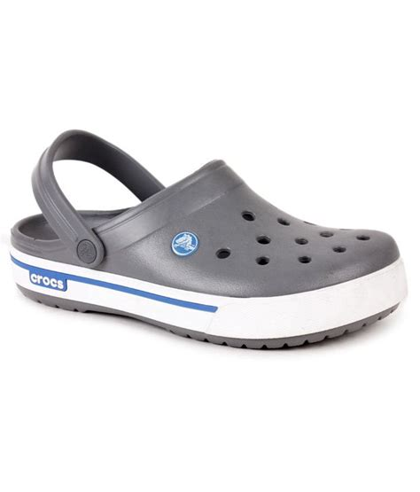crocs 4 5 toddler crocs charcoal grey crocband ii 5 clog shoes price in india buy crocs charcoal grey crocband ii
