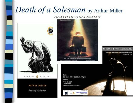 themes in death of a salesman by arthur miller death of a salesman by arthur miller ppt video online