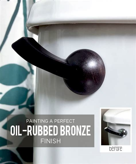 oil rubbed bronze effect is a perfect solution for the painting a perfect oil rubbed bronze finish