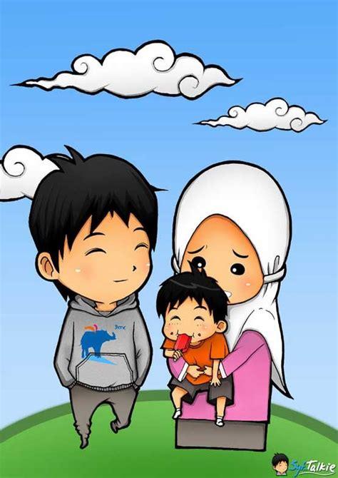 gambar animasi kartun islami lucu kartun animasi
