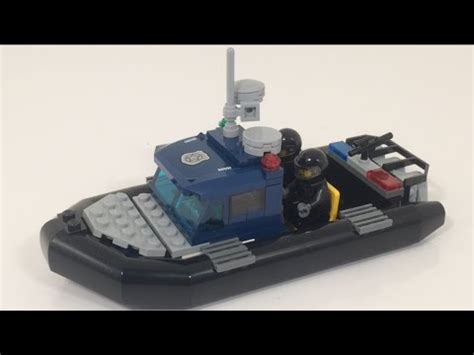 lego boat movie lego moc super secret police boat youtube