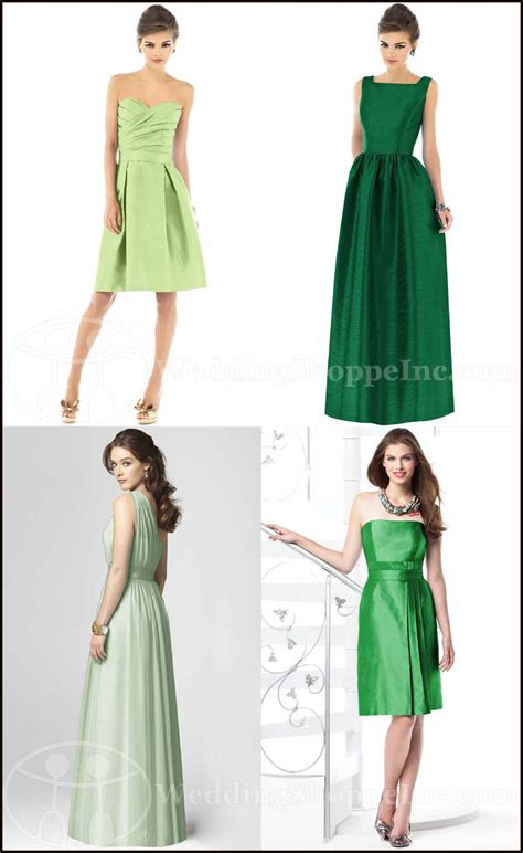 Green Bridesmaid Dress by Get Lucky Green Bridesmaid Dresses