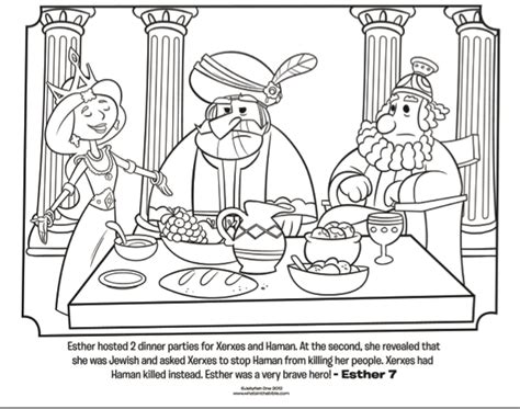 maybe esther a family story books esther dinner bible coloring pages what s in the