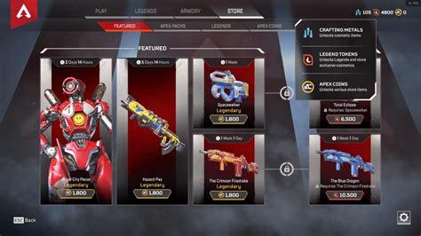 apex legends le dernier patch introduit des skins