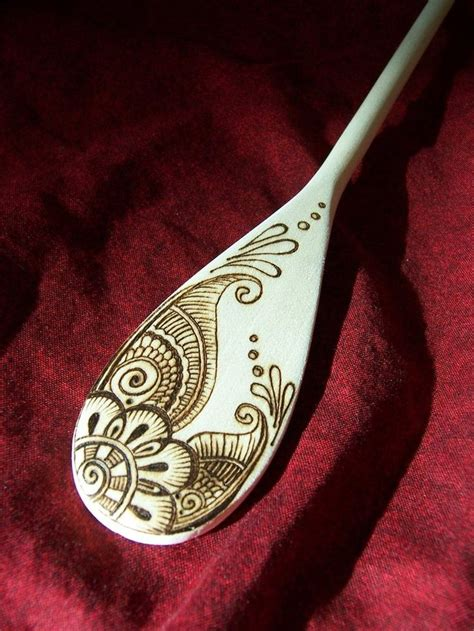 Pyrography Spoons 365 Days Of Crafts Inspiration - 1000 ideas about wooden spoon crafts on