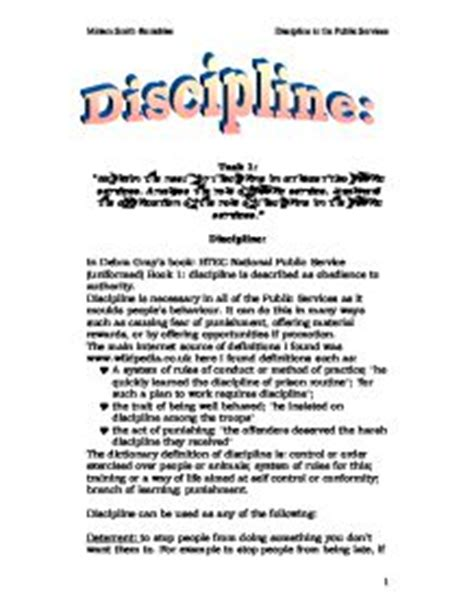 Standards And Discipline In The Army Essay by Discipline Essay Sun City Sports Medicine Family Clinic P A Discipline Essays Ayucar