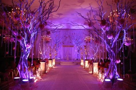 Wedding Aisle Lights by Enchanted Prom Theme Enchanted Forest Decor Ideas