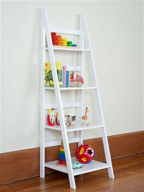 ladder shelf mocka storage bookcase childrens furniture