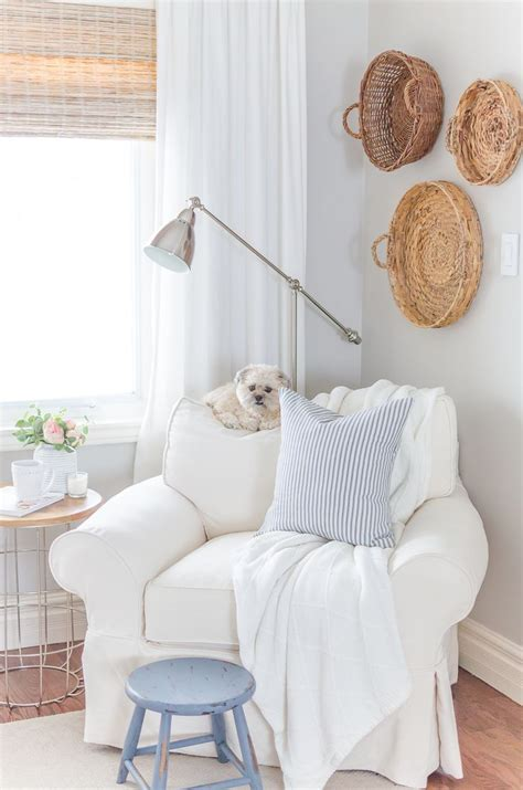 beach style bedroom with reading corner cottage bedroom cottage country decorating a collection of home decor