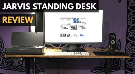 Jarvis Bamboo Standing Desk Review Gadget Review