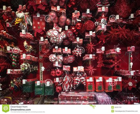 christmas ornaments for sale editorial photo image 35331761