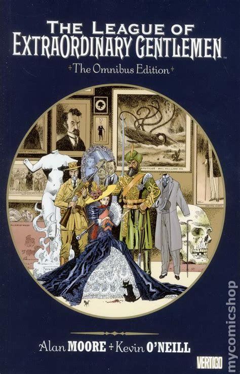 league of extraordinary gentlemen omnibus tpb 2013 dc vertigo comic books