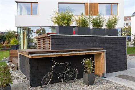 wohnzimmer 5x5m wohnhaus s 35 modern garage stuttgart w3