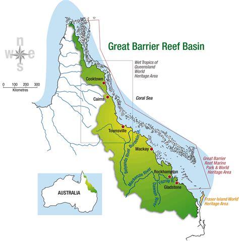 great barrier reef map barrier reef australia map