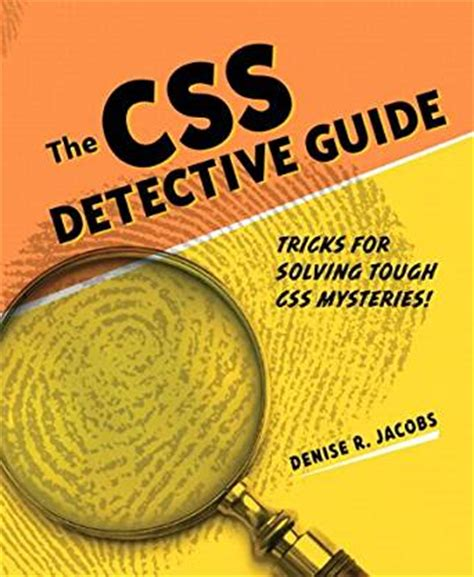 beau a detective mystery books the css detective guide tricks for solving