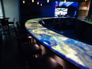 Illuminated Bar Top by Backlighting Countertops With Led Light Panels Evo Lite