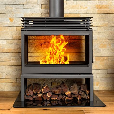 Sided Wood Burning Fireplace by Wood Burning Fireplaces Titan Fs Sided