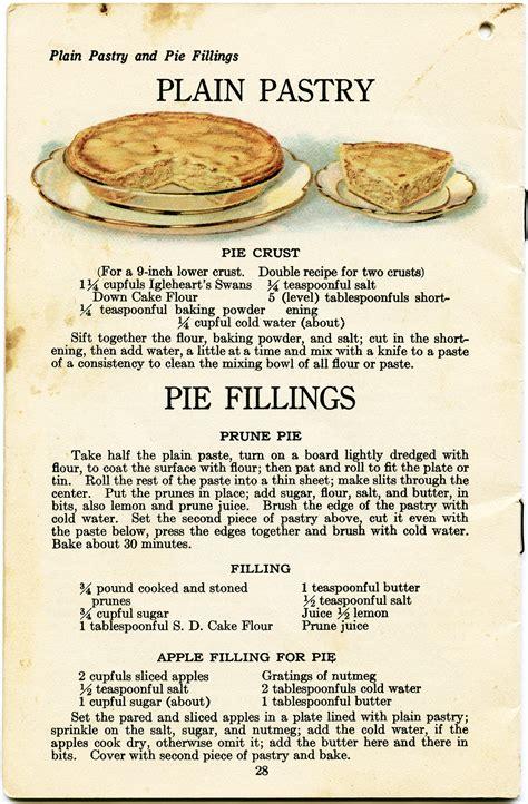 enjoy a lifetime of recipes books fruit pies mccallum vintage recipe divas