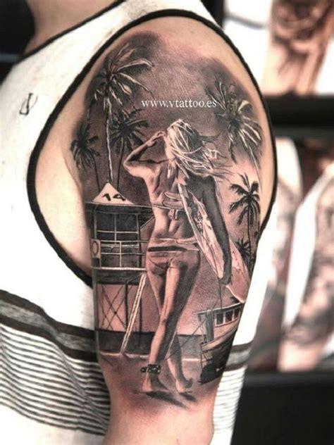 surf sleeve tattoo designs 60 awesome tattoos sleeve tattoos