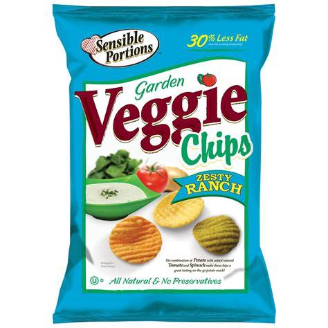 Garden Vegetable Chips Sensible Portions Zesty Ranch Veggie Chips 18 Oz Ebay