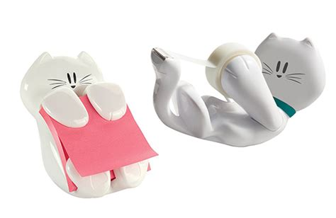 Cute Kitty Desk Accessories Hauspanther Cat Desk Accessories