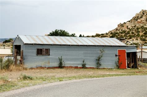 Corrugated Roof Shed corrugated metal it isn t just for barns knick of time