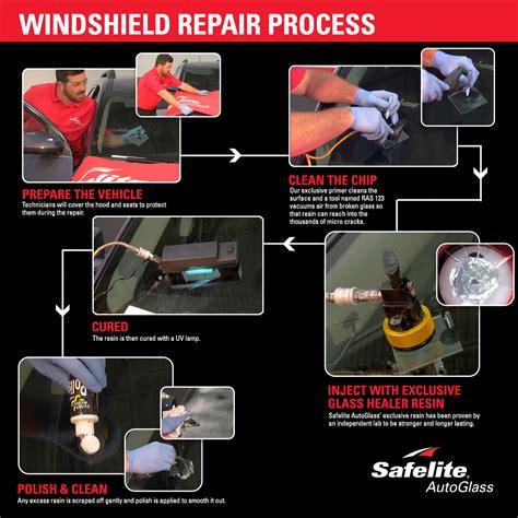 safelite repair step by step windshield repair process safelite