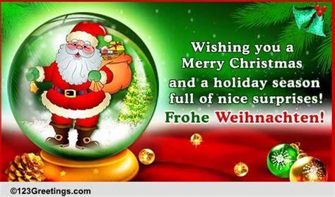 merry christmas  german  german ecards greeting cards
