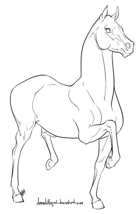Pin de Anna Dallendorfer em sketches   Pinterest   Cavalo