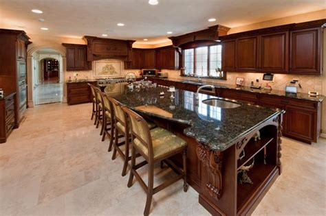 custom designed kitchens 72 luxurious custom kitchen island designs page 8 of 14