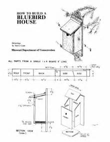 Bluebird Houses Plans Bluebird Houses For March Nesting Blueprints