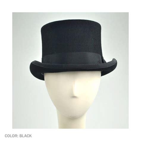 Hat L by Jaxon Hats Mid Crown Wool Felt Top Hat Top Hats