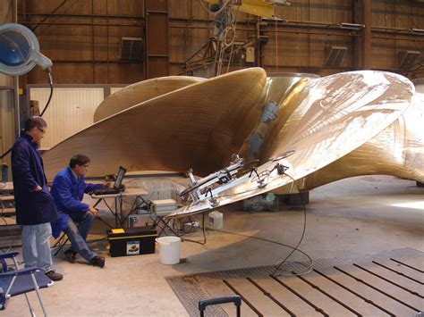 boat propeller materials detecting material defects in ship propellers