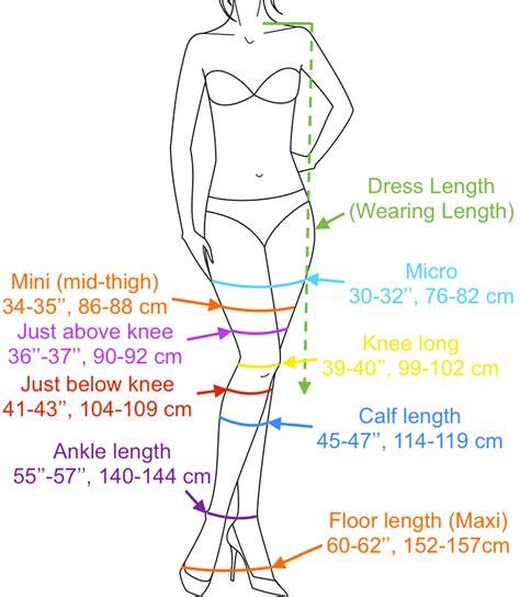 average length of a dress length guide