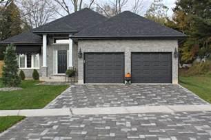 Garage Add Ons Designs house amp brick color black garage doors would have been too stark