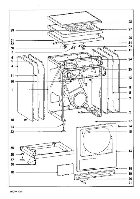 miele parts diagram miele t4462c drayer service manual schematics