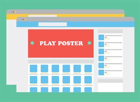 membuat poster manual play poster themeson