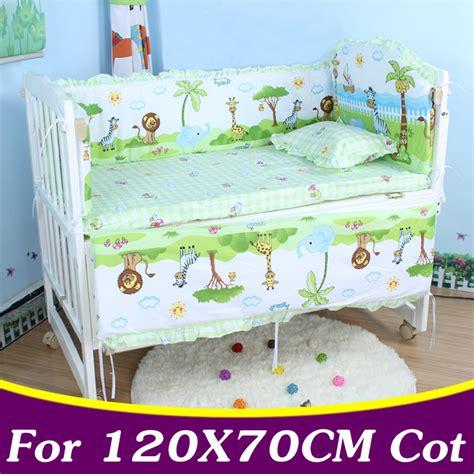 Where To Buy Crib Bedding 5pcs Set Cotton Baby Bedding Set For Boys Crib Bedding Set For 120x70cm Baby Cot Bumper