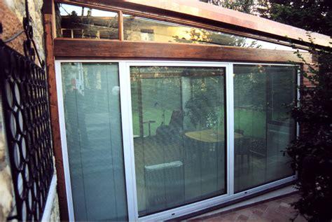 verande chiuse verande in legno lamellare with verande chiuse in legno