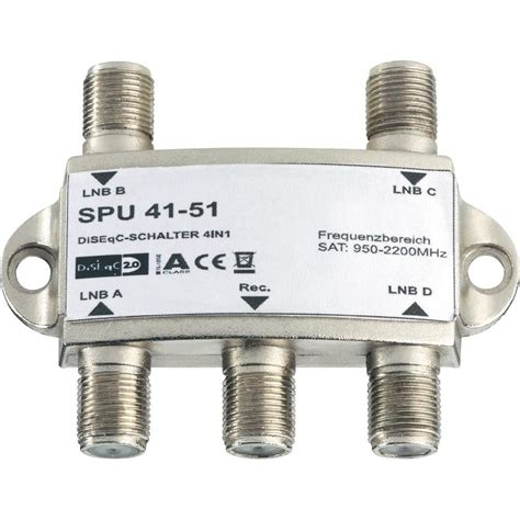 Switch Diseqc diseqc switch basetech 4 4 sat 0 terrestrial 1 from