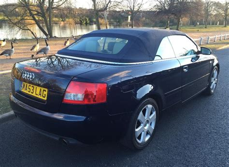 electronic toll collection 1998 audi cabriolet seat position control 2004 53 audi a4 cabriolet convertible 2 4 v6 auto tipton dudley